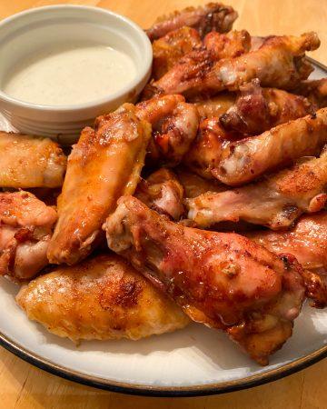 The Ultimate Smoked Garlic Honey Wing Recipe