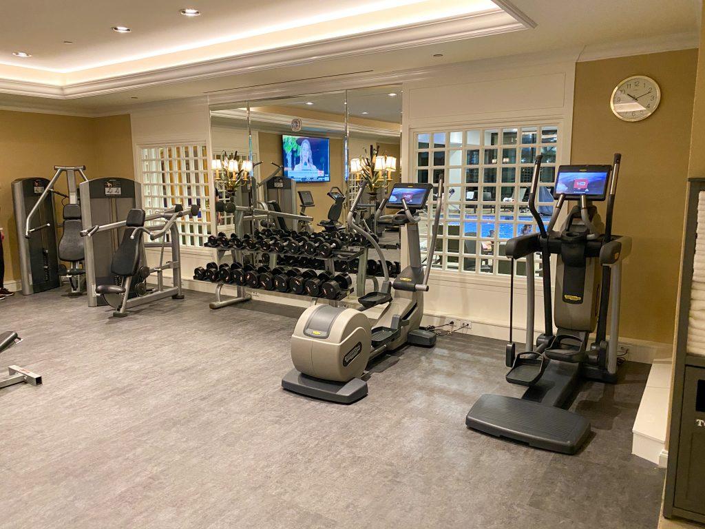 Little America Hotel Gym