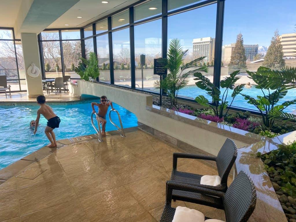 Little America Hotel Pool