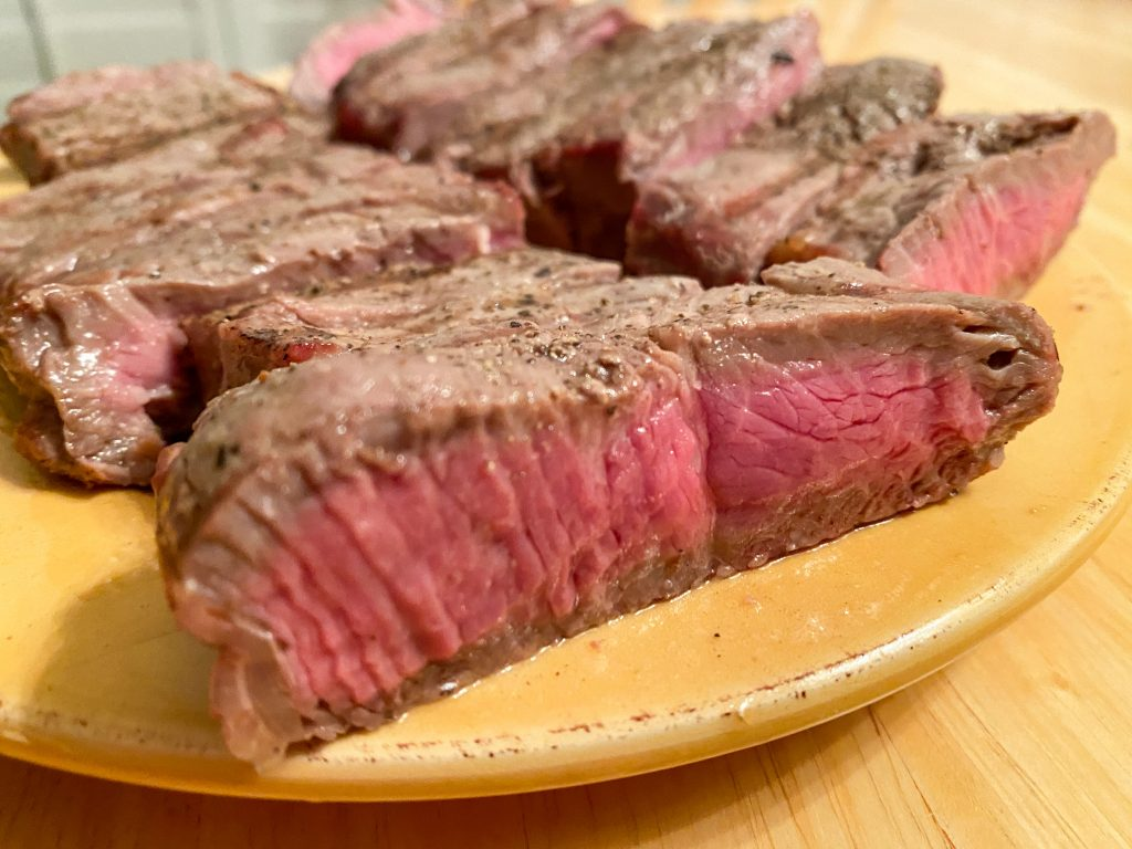 Medium Rare Steak Recipe
