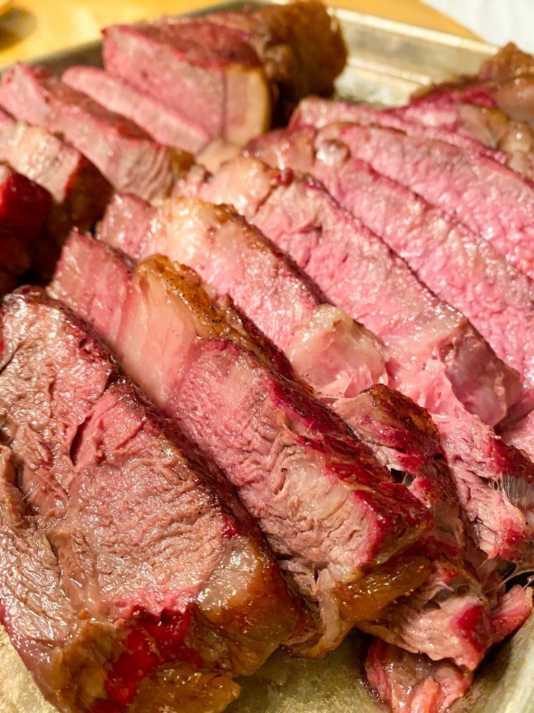 Medium Rare Tomahawk Steak
