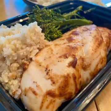 The Best Meal Prep Chicken Recipe