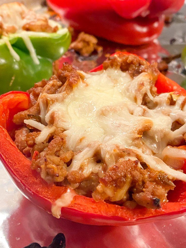 The Best Turkey Stuffed Pepper Recipe
