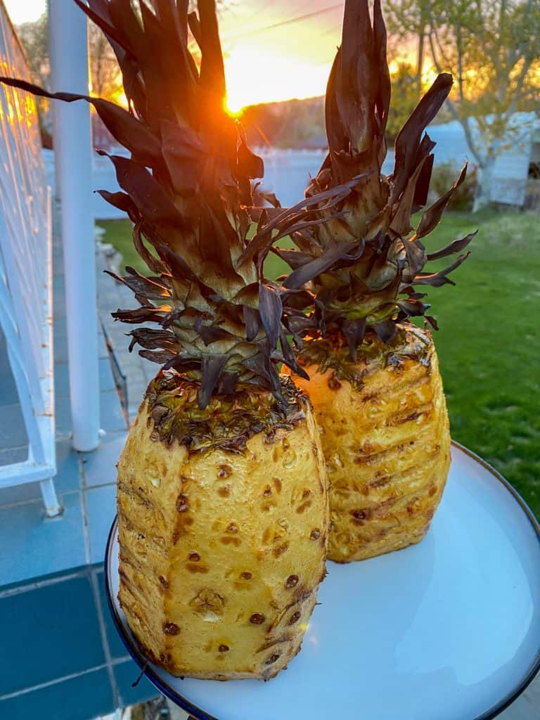 Glazed Pineapple